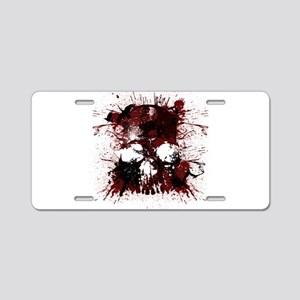 Skullmania Aluminum License Plate